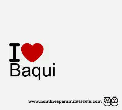 Baqui