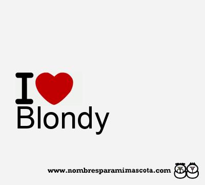 Blondy