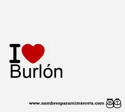 Burlón