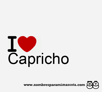 Capricho