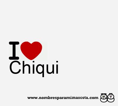 Chiqui