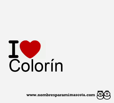 Colorín