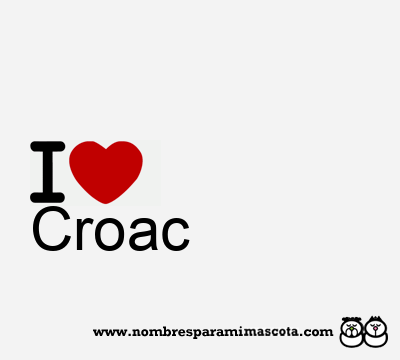 Croac