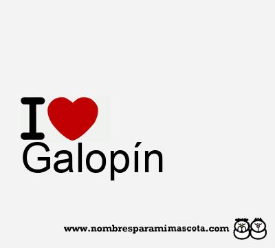 Galopín
