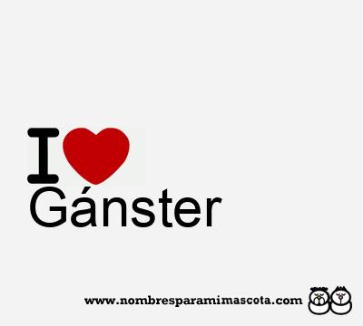 Gánster
