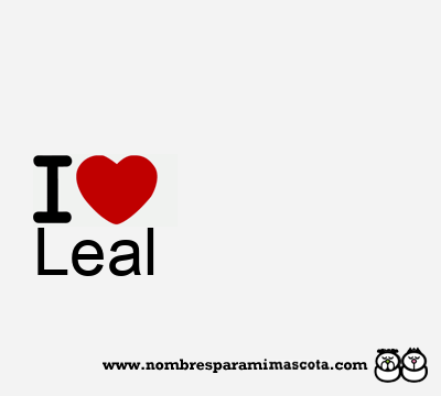 Leal