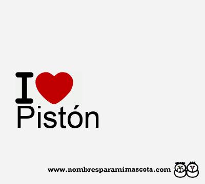 Pistón