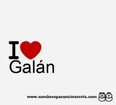 Galán