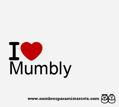 Mumbly
